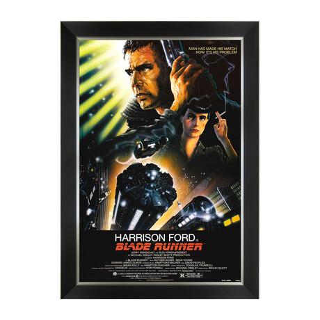 Blade Runner // Vintage Movie Poster // Framed Art Print