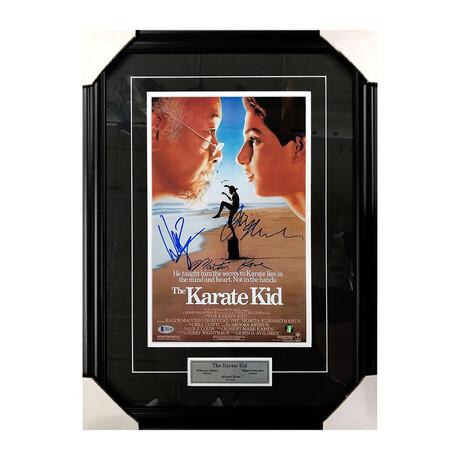 Karate Kid // Framed Autographed Poster
