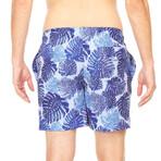 Mykonos Swim Trunk // Navy + Blue + White (XL)