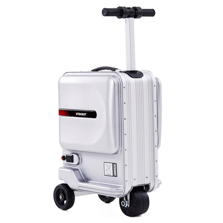 Rydebot Puledro // Rideable Carry-On Suitcase (Black)