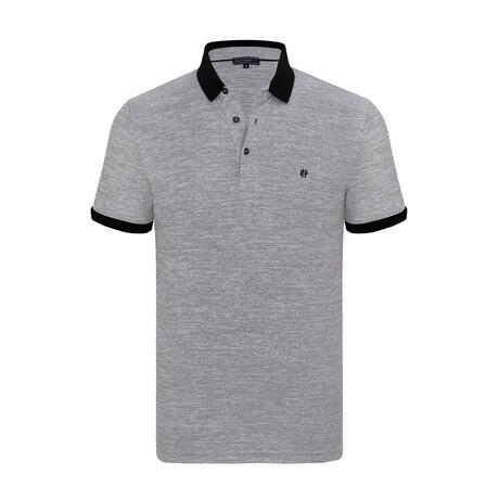 Oscar Short Sleeve Polo Shirt // Black (XS)