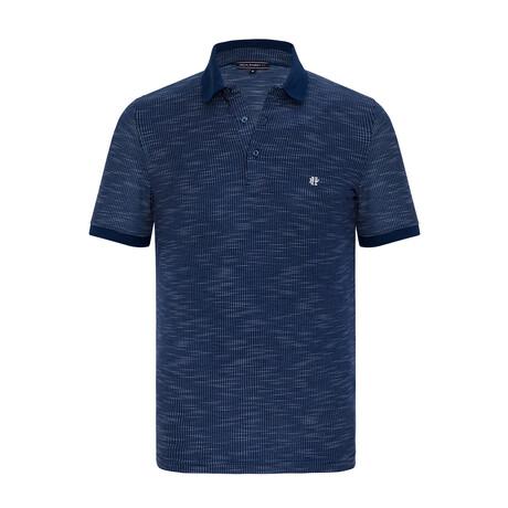 Luke Short Sleeve Polo Shirt // Navy (XS)