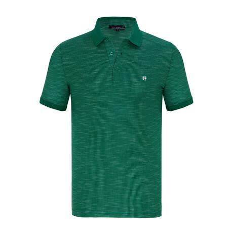 Otis Short Sleeve Polo Shirt // Green (XS)