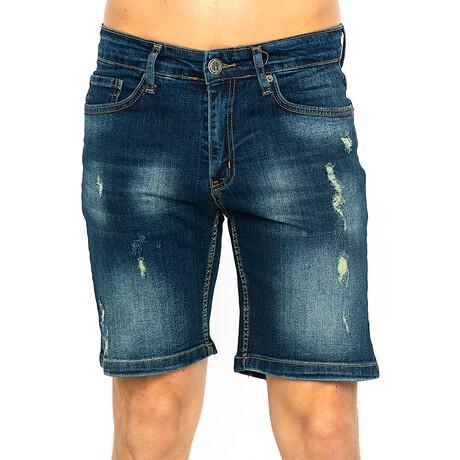 Jake Denim Shorts // Navy (XS)