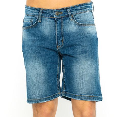 Sawyer Denim Shorts // Blue (XS)