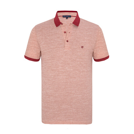 Arthur Short Sleeve Polo Shirt // Orange (XS)