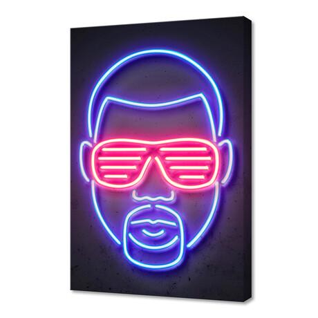 "Kanye West (16""W x 24""H x 1.5""D)"