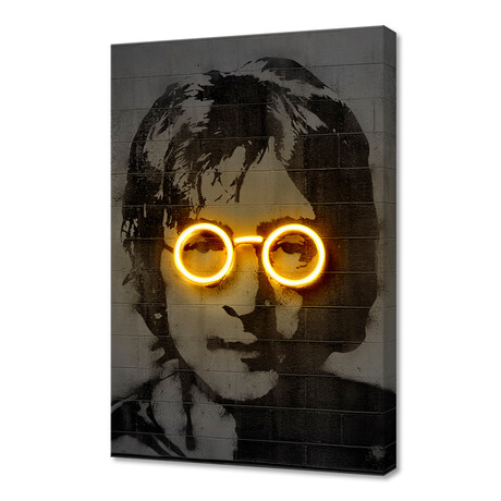 "John Lennon (16""W x 24""H x 1.5""D)"