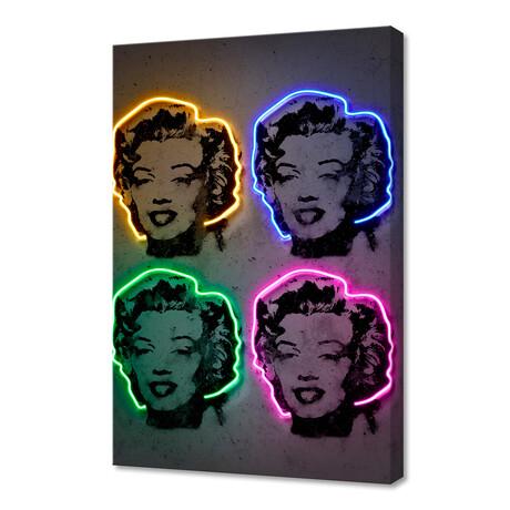 "Marilyn Pop (16""W x 24""H x 1.5""D)"