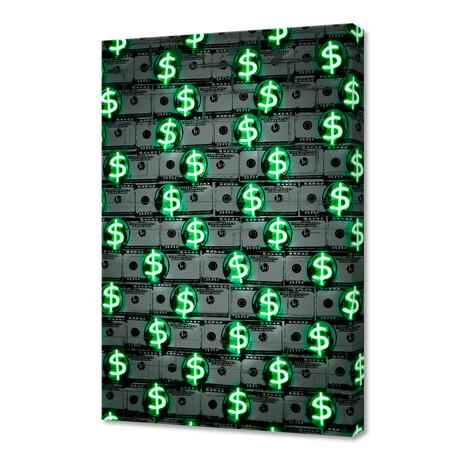 "Money Money Money (16""W x 24""H x 1.5""D)"