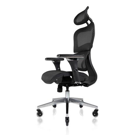 Nouhaus Ergo3D Ergonomic Office Chair // Black Coffee