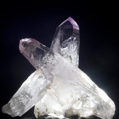 Pyramidal Vera Cruz Amethyst Crystal Cluster