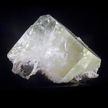 Green Cubic Apophyllite Crystal
