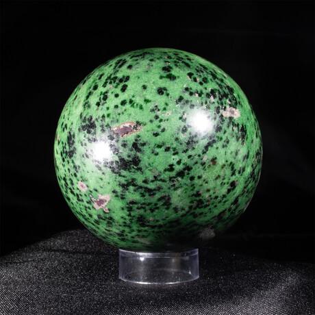 Ruby Zoisite Sphere