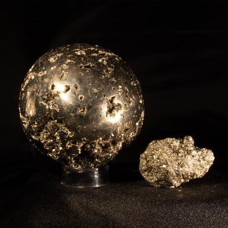 Pyrite as Art and Science Medium V1