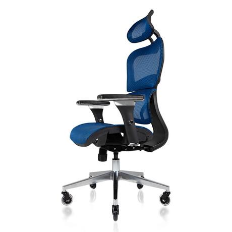 Nouhaus Ergo3D Ergonomic Office Chair // Brilliant Blue