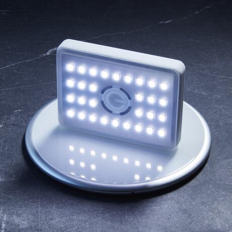 Glowstone Flashlight + Charger (White)