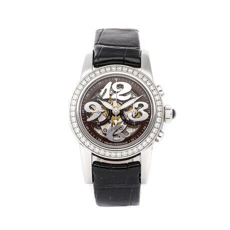 Girard-Perregaux Ladies Small Chronograph Automatic // 80440.D11.AB11.BKBA // Pre-Owned