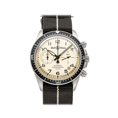 Bell & Ross BR V2-94 Military Automatic // BRV294-BEI-ST/SF // Pre-Owned