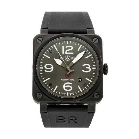 Bell & Ross BR03-92 Military Type GI Joe Edition Automatic // BR0392-MIL-CE // Pre-Owned