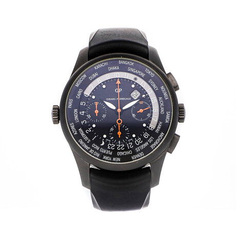 Girard-Perregaux World Time WW.TC Chronograph Sincere Limited Edition Automatic // 49805-24-663SFK6A // Pre-Owned
