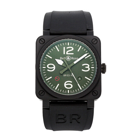 Bell & Ross BR-03 Military Type Automatic // BR0392-MIL-CE // Pre-Owned