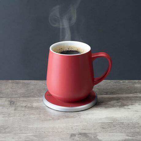 Ui Mug Set // Coral Red