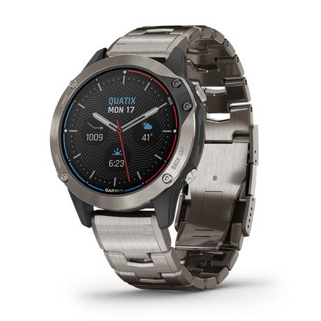 Quatix 6 Sapphire // Titanium Gray // 010-02158-94