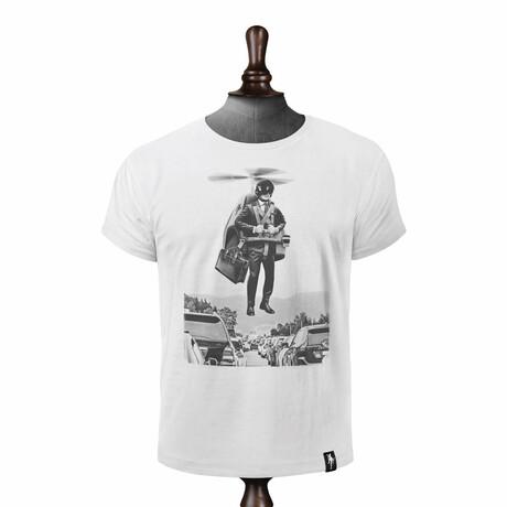 Traffic Buster T-shirt // Vintage White (XS)
