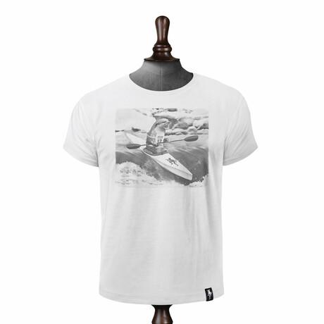 River Racer T-shirt // Vintage White (XS)