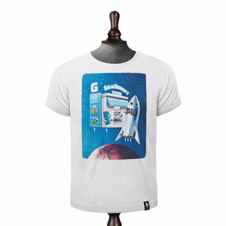 Fly Thru T-shirt // Vintage White (XS)