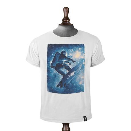 Star Surfer T-shirt // Vintage White (XS)