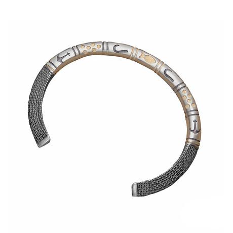 Sea World Bracelet // Black + White (XS)