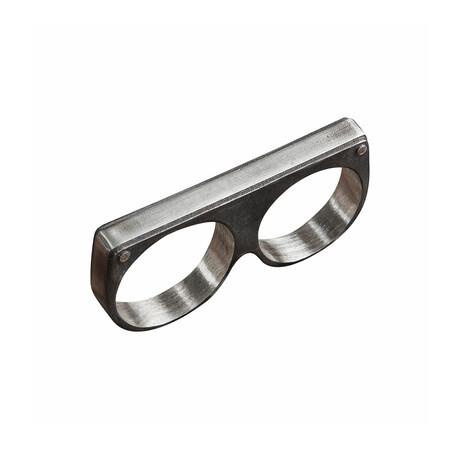 Plain Twin Ring // White (10)