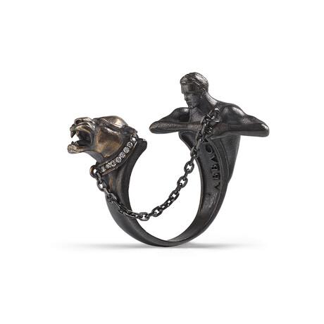 Sculpture Ring // Black (10)