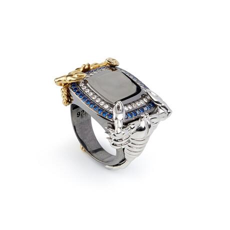 Scorpion Ring // White (10)