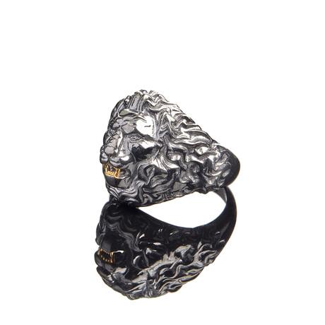 Lion Power Ring // White (10)