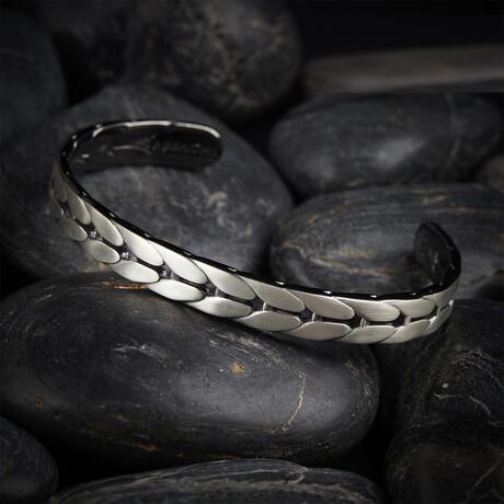 Fashion Chevron Bracelet // White (XS)