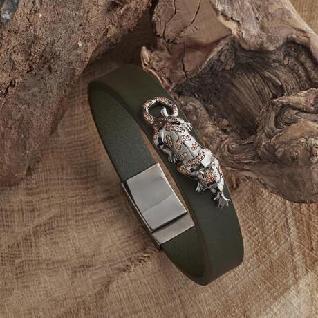 Panther Bracelet // Green (XS)