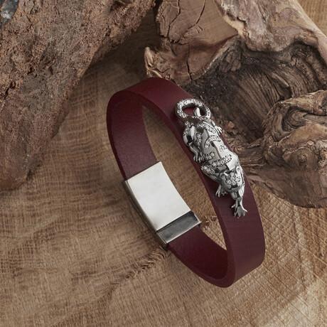 Panther Bracelet // Red (XS)