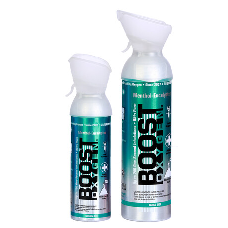 2-Pack // Oxygen Canisters // Menthol-Eucalyptus