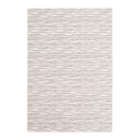 """Yeta Light Gray // Indoor + Outdoor Rug (4'11""""L x 2'7""""W)"""