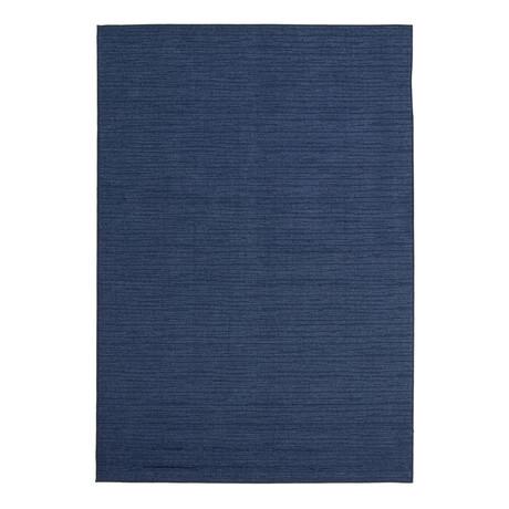 """Yeta Blue // Indoor + Outdoor Rug (4'11""""L x 2'7""""W)"""