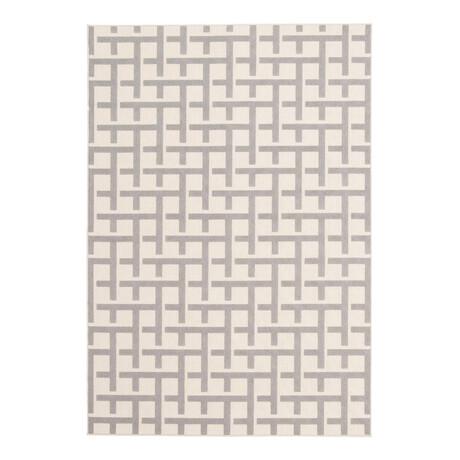 "Villa Light Gray // Indoor + Outdoor Rug (4'11""L x 2'7""W)"