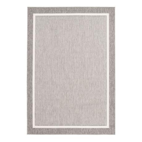 """Platinum Gray // Indoor + Outdoor Rug (4'11""""L x 2'7""""W)"""