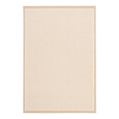 "Oxford Ivory // Indoor + Outdoor Rug (4'11""L x 2'7""W)"