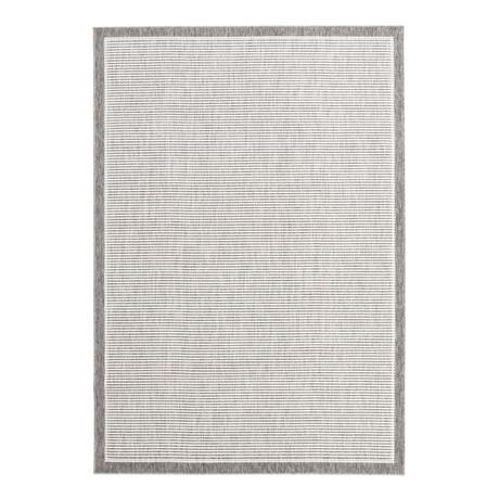 """Oxford Gray // Indoor + Outdoor Rug (4'11""""L x 2'7""""W)"""