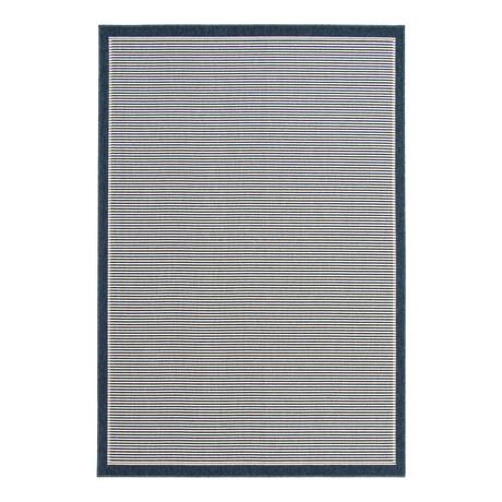 """Oxford Blue // Indoor + Outdoor Rug (4'11""""L x 2'7""""W)"""