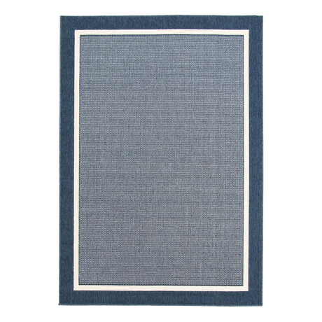 "Platinum Blue // Indoor + Outdoor Rug (4'11""L x 2'7""W)"