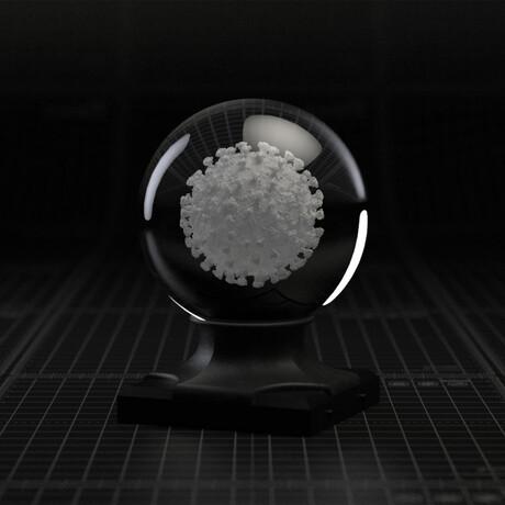 Sars Cov-2 Virus In A Sphere // LED Set